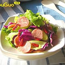 台式卤肠沙拉