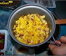 咖喱熏肉饭的做法