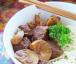 沙茶牛肉一锅端的做法