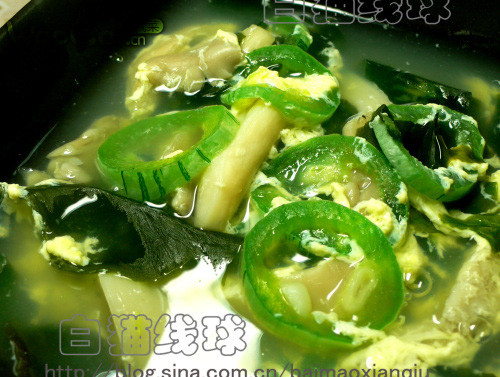 蛇豆蘑菇海菜汤的做法