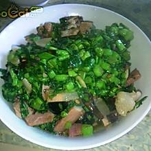 腊菜炒乡下老腊肉