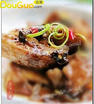 豆豉烧鱼块的做法