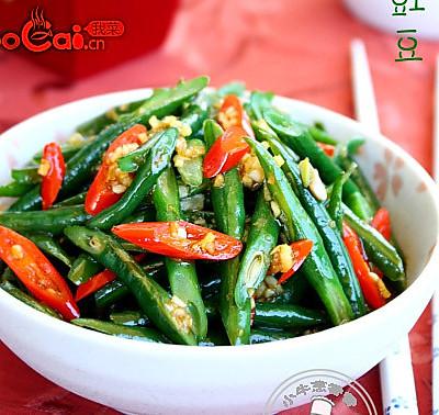 特色凉拌菜:响油豇豆