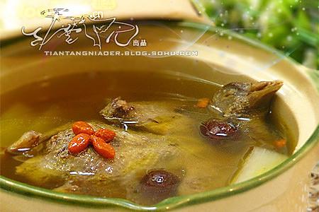 秋季进补 乳鸽滋补养颜汤的做法