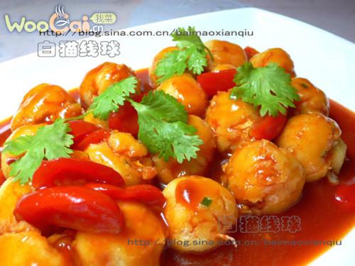 有滋有味:茄汁豆渣丸子的做法
