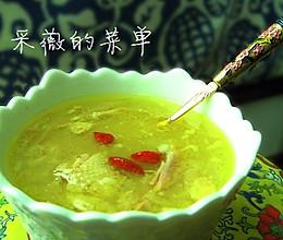 美丽厨娘—阴米鸡汤的做法