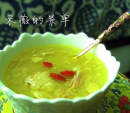 美丽厨娘—阴米鸡汤