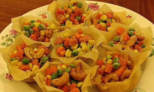 春节菜谱—花开富贵的做法