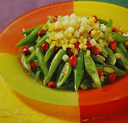 榨菜四季豆的做法