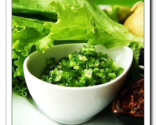 东北蘸酱菜的做法