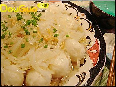 虾仁鱼丸水晶萝卜丝的做法