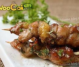 别样的味道--法香煎鸡腿肉的做法