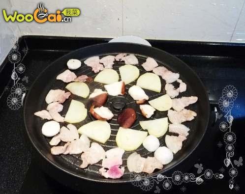 家庭韩式烤五花肉的做法