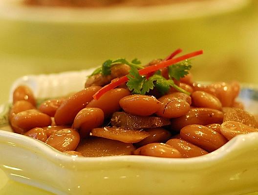 姜汁芸豆的做法