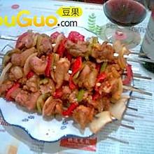 香烤鸡肉串