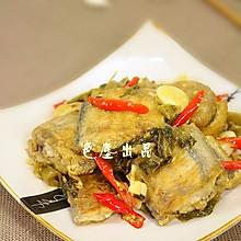 酸菜烧带鱼