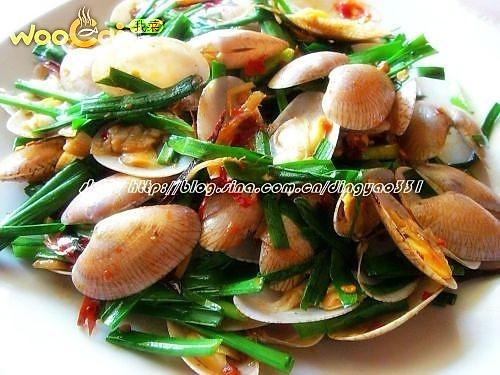美味的海鲜小炒的做法