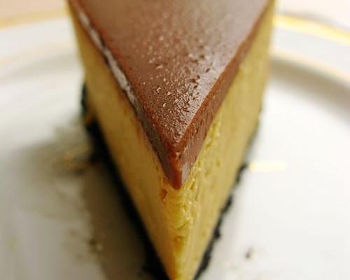 焦糖玛奇朵重乳酪蛋糕--美丽厨娘的做法