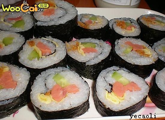 寿司DIY的做法