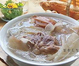 滋润肌肤——清补凉排骨汤的做法