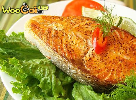 姜香三文鱼的做法