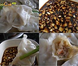 韭黄鲜虾猪肉饺的做法