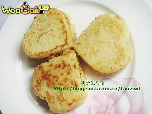 美丽厨娘-心形土豆饼的做法
