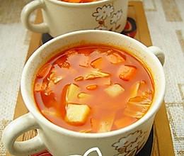 牛肉番茄汤的做法