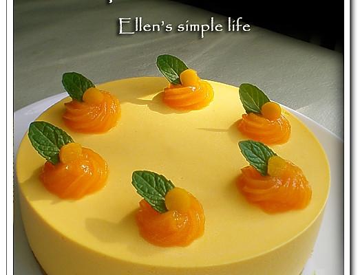 美丽厨娘-免烤南瓜慕斯蛋糕的做法