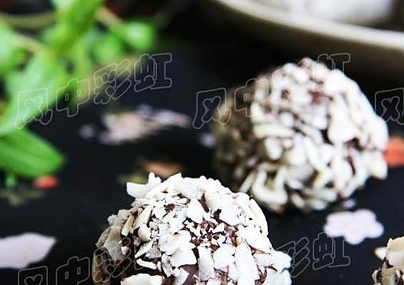 巧克力燕麦球的做法