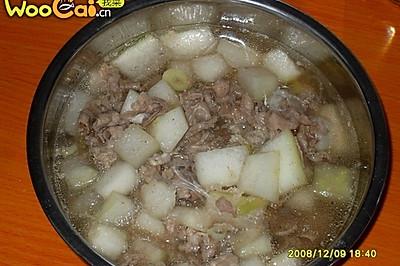 羊肉冬瓜粉丝汤