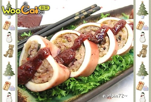 鱿鱼粉肠(韩国菜)的做法