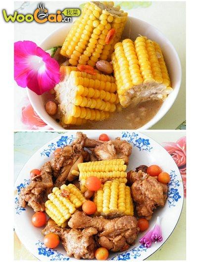 玉米鸡翅根家常菜的做法