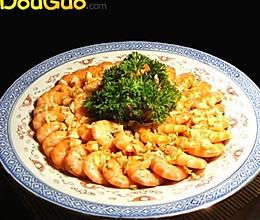蒜香蒸虾(极其简单)的做法