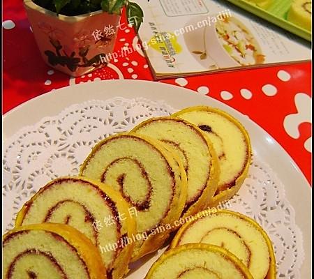 虎皮蛋糕卷——美丽厨娘的做法