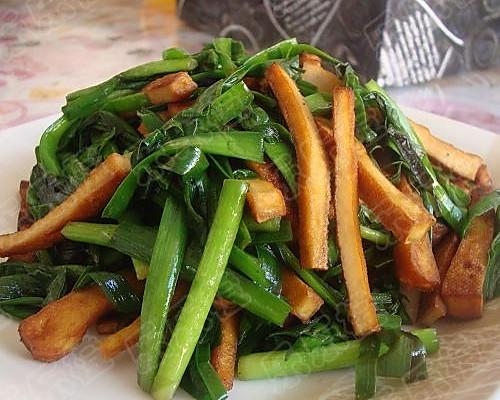 熏干韭菜的做法