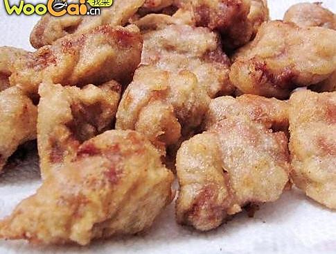 干炸五香鸡块的做法