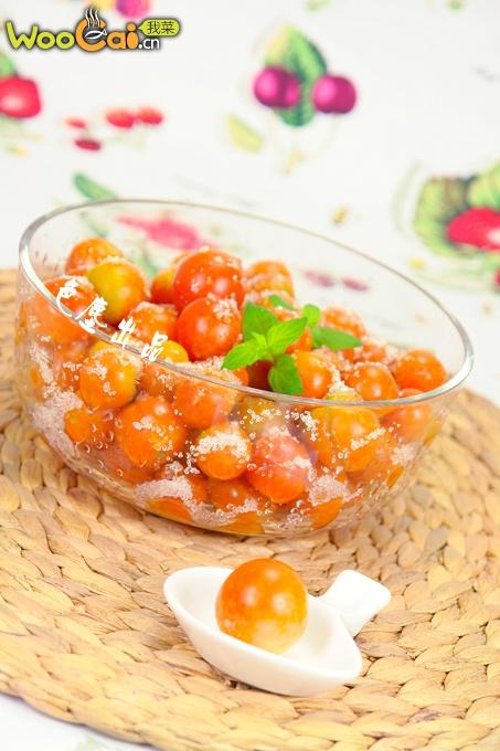 糖拌小西红柿的做法