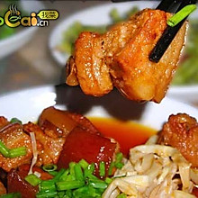 野竹笋软糯红烧肉