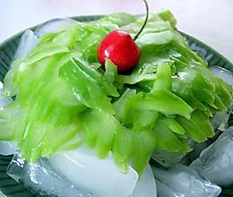 冰山君子菜的做法