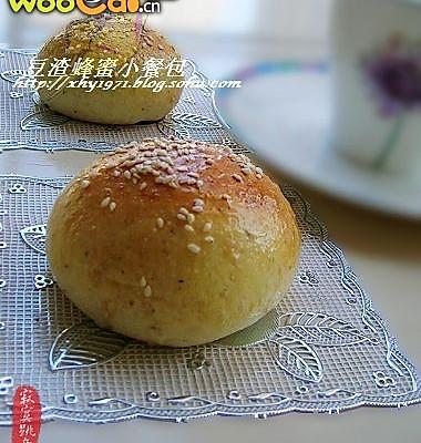 五谷豆渣蜂蜜小餐包的做法