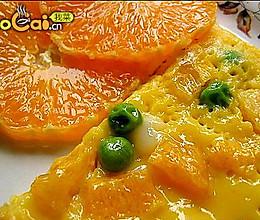 香橙鸡蛋饼的做法