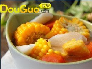 时蔬排骨汤的做法