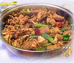 火锅黄焖小土鸡的做法