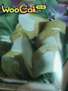 泰国甜品-金瓜布丁的做法