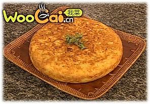 西班牙土豆饼的做法