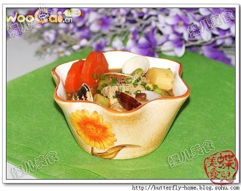 蝶式大酱汤的做法