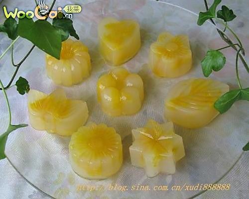 鲜橙蜂蜜凉糕的做法