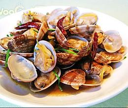 美味海鲜——酱爆芒果贝的做法