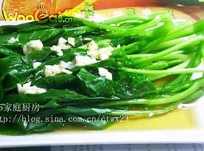 清爽开胃的凉拌橄榄菜的做法